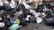 Хто рятує Рим від куп сміття