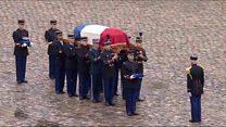 Paris memorial for hero police officer