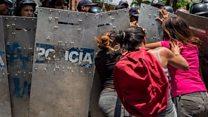 Relatives of dead prisoners tear-gassed
