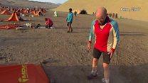 Runner, 73, runs 18 marathons a year