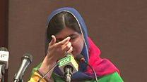 Malala de retour au Pakistan