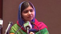 Malala's surprise return to Pakistan