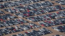 Volkswagen's car 'graveyard' in California