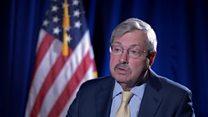 US envoy to China: 'We don't trust Kim'