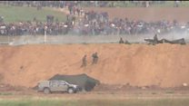 Stand-off at Gaza-Israel border