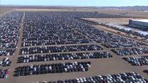 مقبرة للسيارات في أمريكا