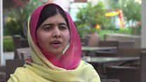 Malala: 'I'm so happy to be home'