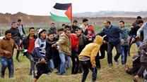 Twelve killed in Gaza border protest