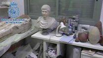 इस्लामिक स्टेट ने लीबिया में लूटी मूर्तियां, स्पेन से बरामद