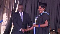 Un diplôme obtenu derrière les barreaux