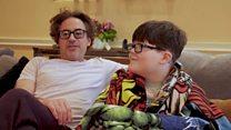 Iron man star praises-eight-year-old 'true hero'