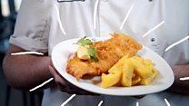 وجبات عالمية: السمك والبطاطا