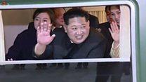 Inside Kim Jong-un's green train