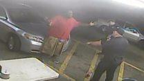 New CCTV shows Alton Sterling shooting