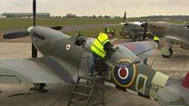 RAF anniversary flypast