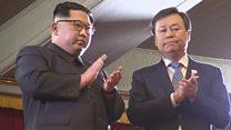 K-pop stars entertain Kim Jong-un