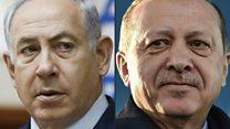 جنگ لفظی اردوغان و نتانیاهو بر سر چیست؟