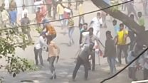 انڈیا میں دلت برادری سراپا احتجاج