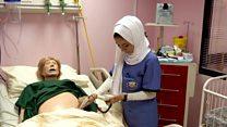 مختبر افتراضي لتدريب طلبة التمريض في الأردن