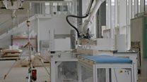 مشاريع بحثية لتوسيع استخدامات الروبوتات في تصميم وتشييد المباني