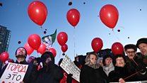 Тысячи людей в Екатеринбурге требуют оставить выборы мэра