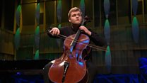 Maxim Calver's performance in the BBC Young Musician 2018 Strings Final
