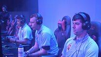 RAF pilots take on gamers in Rocket League battle