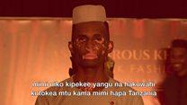 Mwanamitindo wa Tanzania ambaye anaugonjwa wa Vitiligo