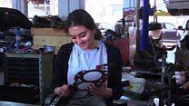 دختر لبنانی که مکانیک خودرو است