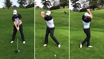 How to hit a golf ball like a pro