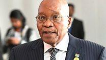 Madaxweynihii hore ee Koonfur Afrika Jacob Zuma, oo maanta maxkmad la hor keenayo