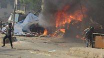हिंसा की आग में ख़ाक हो गई रोजी-रोटी
