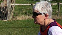 Бака с деменцијом трчи маратон