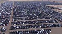 फोक्सवॅगन गाड्यांचं 'स्मशान' पाहिलं का?