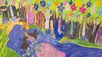 Autistic artist's work receives critical acclaim