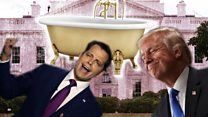 The Mooch, Trump and a gold-plated bathtub