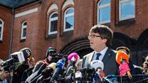 'Dialogue not repressive threats' - Puigdemont