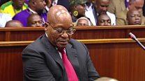 Jacob Zuma au box des accusés
