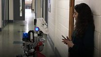 Robot invented to look after people