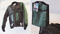 Would you wear a jacket made out of a lunchbox?