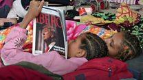 Estas son las caras de la caravana que motivó al presidente de EE.UU. a militarizar la frontera con México