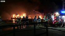 Fire destroys garden centre