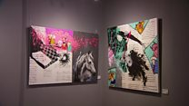 نمایش آثار هنرمندان و نقاشان ایرانی در لندن