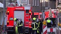 Deaths as van drives into Muenster crowd