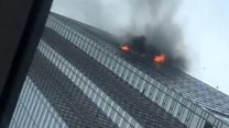 Trump Tower fire: 'You got to get out'