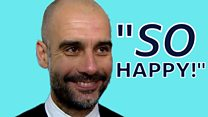 So Pep, how are you feeling right now?