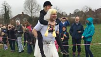 UK wife-carrying champion crowned