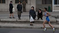 Running in North Korea's marathon
