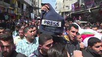 انتقاد دیدبان حقوق بشر از اسرائیل به خاطر مرگ خبرنگار فلسطینی
