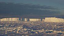 Clues to Larsen ice shelves' past